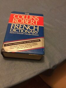 Collins Robert French.English and English.French dictionary