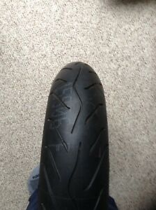 New front motorcycle tire