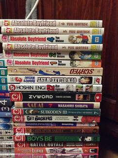 Manga and Anime for Sale Kenwick Gosnells Area Preview