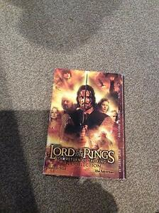 Lord of the Rings pin set Old Reynella Morphett Vale Area Preview