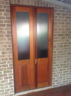 Solid Timber French door Hunters Hill Hunters Hill Area Preview