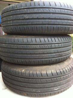 Tyres / tires/ tyre / rims / car / R15