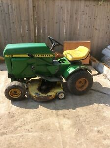 John Deere garden tractor for sale