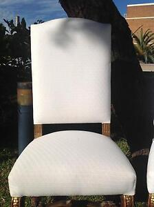 Stunning Versace Dining Chairs x 4 with covers Rozelle Leichhardt Area Preview