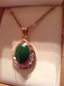 Collier canadian jade/necklace