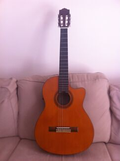 Yamaha CG110 CE Classical Guitar with Pick UP Taringa Brisbane South West Preview