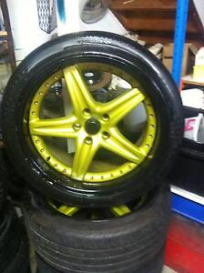 18' Roh mags 3 peice wheel 18x10 5x114 Sunnybank Brisbane South West Preview