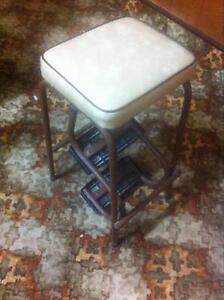 Cool vintage retro original stool fold out foot rest Wallaroo Copper Coast Preview