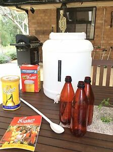 Coopers home brew kit - make your own beer and save money! Bridgewater Adelaide Hills Preview