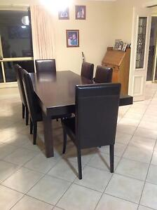 Dining room table & 6 chairs Sheidow Park Marion Area Preview