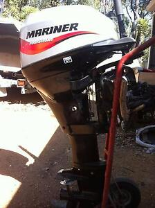 Mariner 15hp four stroke outboard - long shaft Mount Helena Mundaring Area Preview