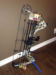 Compound Bow, Arrows and Target