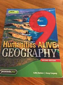 Humanities ALIVE 9 Geography second edition Jacana Hume Area Preview