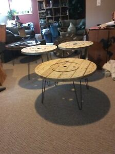 RUSTIC round tables