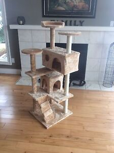 "51.5"" Cat Tree, condo, and Scratching post."