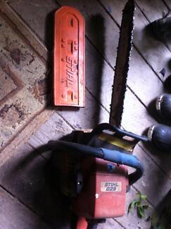 "Chainsaw Stihl 029  18"" roller tip bar + spare roller tip bar"