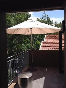 Shelta outdoor market umbrella with winder, tilt, with stand Coogee Eastern Suburbs Preview