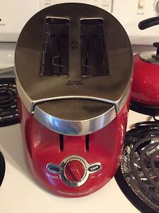 Red Hamilton Beach Toaster