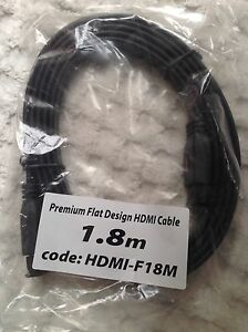 NEW 1.8m flat HDMI cables Armidale Armidale City Preview