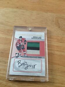 2010 ITG Game Number and Auto Gold Brian Lee