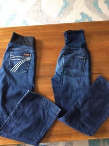 Maternity jeans. Seven for all mankind size 28