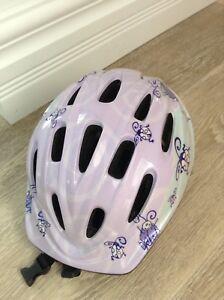 Casque de vélo pour fille médium