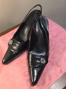 Women's Franco Sarto black pumps size 10.5 medium