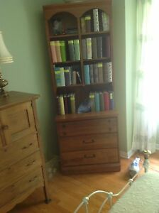 Book case with3 drawers