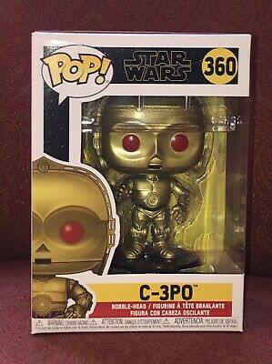 New FUNKO POP! STAR WARS: RISE OF SKYWALKER C-3PO (Red Eyes) 360 48222 Free Ship
