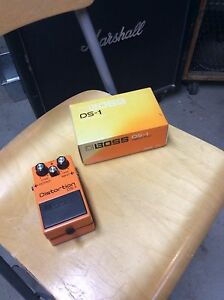 Original 80's Boss effects pedal with box.