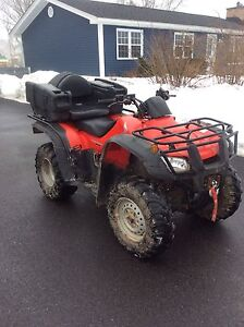 Honda Four Trax 350 4X4 ES with Plow and Kimplex Winch