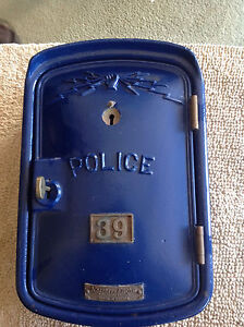 Windsor Police Call Box