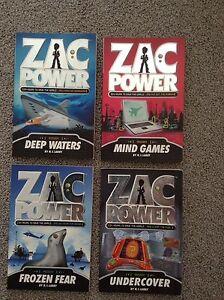 Zac Power books $5 each Armidale Armidale City Preview