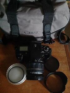 EOS5 cannon camera with filters Sydney City Inner Sydney Preview