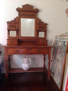 Original early Australian dressing table. Beaumaris Bayside Area Preview