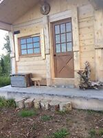 Location  petit chalet scandinave   Camping  sauvage rustik,