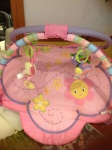 nice infant play mate with toys for $15 only.