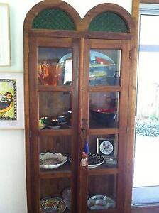 Glass Teak Cabinet Byron Bay Byron Area Preview