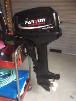 Outboard 9.8hp parsun short shaft.