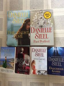 DANIELLE STEEL BOOKS IN Excellent CONDITION