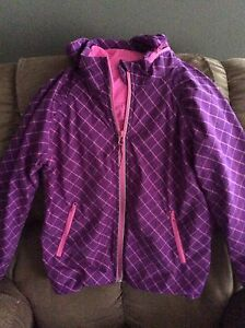 Girls' Size 12 hooded Ivivva Jacket