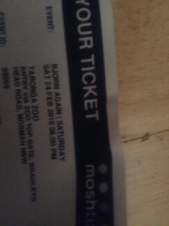 X2 Bjorn Again Concert Tickets - Twilight at Taronga