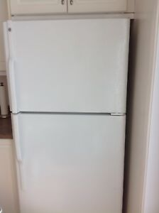 GE Fridge White