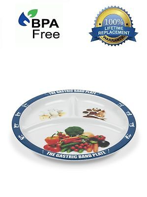 (World Slimming Gastric Band Plate Portion Control Weight Loss Diet Plate Watcher)