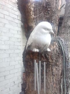 White bird wind chime Singleton Area Preview