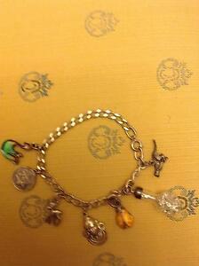 Vintage St, Silver Bracelet with pendants Caulfield Glen Eira Area Preview