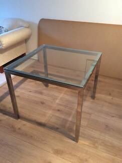 Glass topped dining table Hornsby Hornsby Area Preview