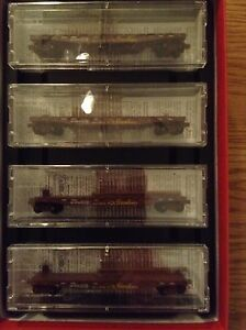 Micro Trains N scale Union Pacific 4 car runner pack