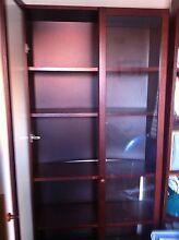 dark brown wooden shelves/cabinet Mosman Mosman Area Preview