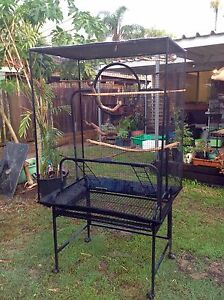 Large Sized Bird Cage on wheels Victoria Point Redland Area Preview